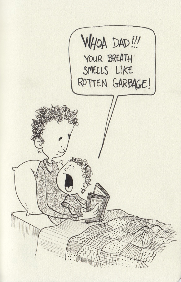 garbage breath