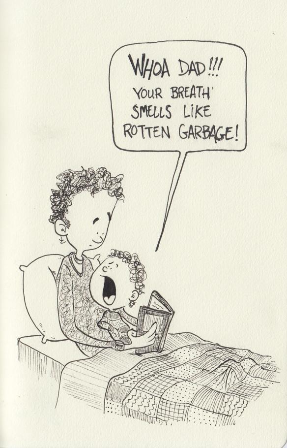 garbage breath