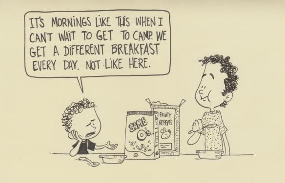 boring breakfast