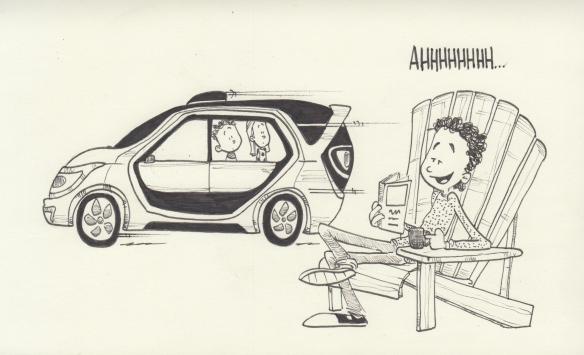 self-driving-minivan