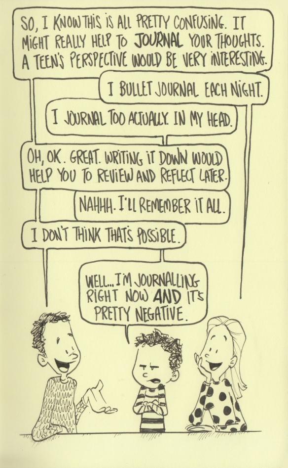 mental journaling